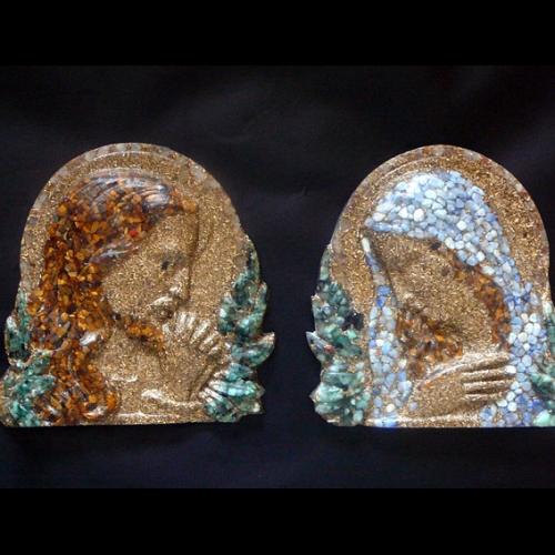 Orgonitová sada - Pán Ježiš a Sv. Mária
