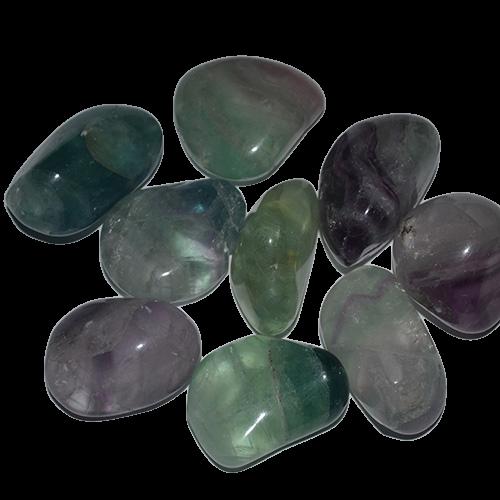 Surové a tromlované kamene
